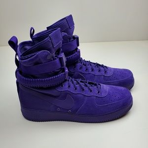 Nike SF Air Force 1 High Court Purple Mens Size 15